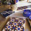 Tile painting workshop