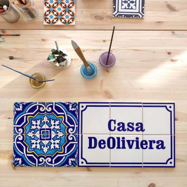 Customized tile panels