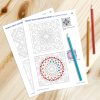 Porto Tiles Coloring Book